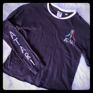 Junk Food Atari shirt XS long sleeve top